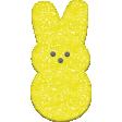 Easter - Marshmallow Bunny Yellow