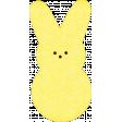 Easter - Yellow Peep Bunny