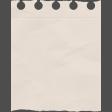 Vintage Memories - Notebook Paper Element