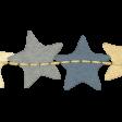 Sleepy Time - Paper Stars Border