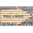 Organized Mess - Elements Kit - What A Mess Arrow