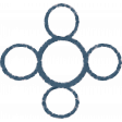 Organized Mess - Elements Kit - Multi-Photo Frame Circles