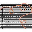 Organized Mess - Elements Kit - String Orange