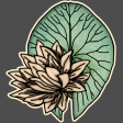 Sweet Lily - Mini Kit - Waterlily Sticker
