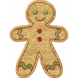 Gingerbread Man Glittered 1