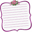It's A Girl Thing! - Journal Note 01