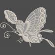 Sweet Vintage Butterfly #2