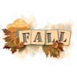 A Fall to Remember Word Art #5