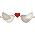 Valentine Grunge Love Birds