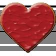 Valentine Not Grunge Cookie 1