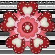 Valentine Grunge Flower 3