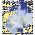 Earth & Sky Paint Splatter 1