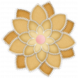 Sew Loved Flower #3