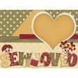 Sew Loved Journal/Pocket Card #4
