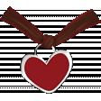 Strawberries & Chocolate - heart #4