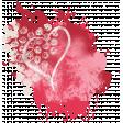 Strawberries & Chocolate - paint splatter #2