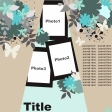 Multiple Photo Layered Template #7
