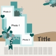 Multiple Photo Layered Template #9