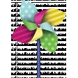 A Bug's World - pinwheel