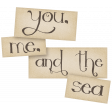 Just Beachy - word art 2