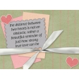 Love Knows No Borders - journal/pocket card 5