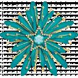 Christmas Magic - sparkle flower 10