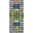 Retro Holly Jolly - Christmas ornament 1