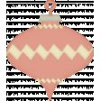 Retro Holly Jolly - ornament 3