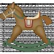Retro Holly Jolly - rocking horse