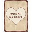 In the Pocket - 3x4 filler card #5-2