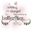 Butterfly Spring - word art 3