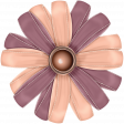 Vintage Memories - ribbon flower 1