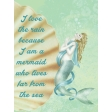 Down Where It's Wetter - Journal Card 8-2, size 3x4
