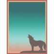 Santa Fe - Card 5, size 3x4