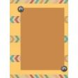 Santa Fe - Card 7, size 3x4
