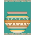 Santa Fe - Card 8, size 3x4