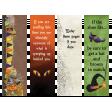 Halloween Bookmarks #1