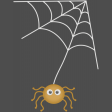 A Little Witchy - spider and web