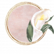 Pretty Botanics Circle Sticker 2