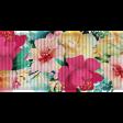 Mixed Media Play - Floral Ribbon 1