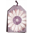 Mauve Medley - Double Flower Tag