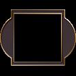 Mauve Medley - Gold Edged Art Deco Frame