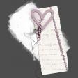 Me & You (Mauve) - Heart Embellishment