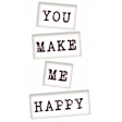 Me & You - You Make Me Happy Wordart
