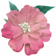 Me & You - Pink Flower with Leaves