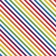 Paper - Stitched Stripes - Primary Colors