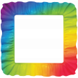 Rainbow Ruffle Frame