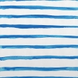 Paper - Bright Primary Watercolor Stripe - Blue