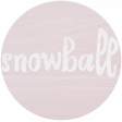 Winter Day Tag - Snowball