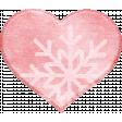 Winter Fun - Snow Baby Snowflake Heart